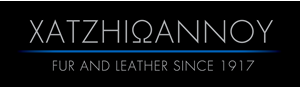 FUR-LEATHER SINCE 1917 XATZHIΩΑΝΝΟΥ THESSALONIKI-GREECE Logo